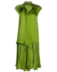 Rochas Dress - Groen