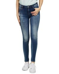 Guess Trousers - Blu
