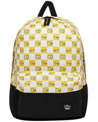 Vans Check Eyes Backpack - (the Simpsons) - Wit