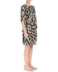 Bazar Deluxe Dress with print Beige - Neutro