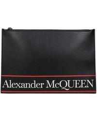 Alexander McQueen Pochette - Zwart
