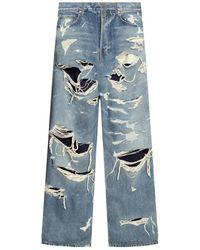 Balenciaga Faded Jeans - Blauw