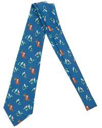 Hermès Tweedehands Vogels - Blauw