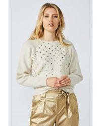 summum woman Puntos pullover Beige - Neutro