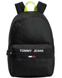Tommy Hilfiger Essentials Contrast Handle Backpack - Zwart
