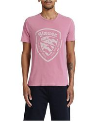 Blauer - T-shirt - Lyst