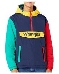 Wrangler Jacket W4c3yl114 - Blauw