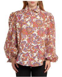 Jijil Shirt - Rouge