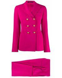 Tagliatore Tanise97177w1393 suit - Rose