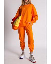 Holzweiler Sweatshirt with logo Naranja