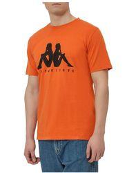 Paura Logo T-shirt - Orange