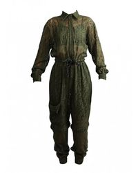 Fendi FF Vertigo Suit - Grün