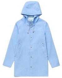 Stutterheim Raincoat Stockholm - Blau