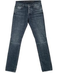 Unravel Project Aw19 Blackstone Skinny Jeans - Blauw