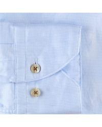 Stenströms Fitted Shirt Azul