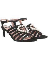 Boutique Moschino Sandals - Schwarz