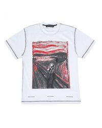 United Standard - Scream T-shirt - Lyst