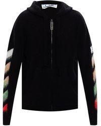 Off-White c/o Virgil Abloh Hooded Sweater - Zwart