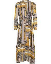 Second Female Maxi Dress - Geel
