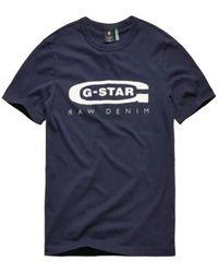 G-Star RAW T-shirt - Blauw