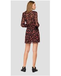 Replay - Floral print dress - Lyst