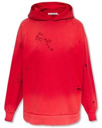 Acne Studios Embroidered Hoodie - Roze
