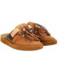Alanui Men's Shoes Closed Lmic001F21Lea001 Marrón