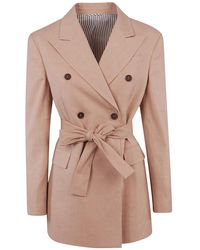 Brunello Cucinelli - Jacket - Lyst