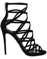 Dolce & Gabbana Sandali con tacco a spillo - Nero