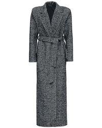 FEDERICA TOSI Coat With Belt - Zwart