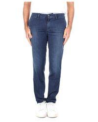 Re-hash P249D288914194 Slim jeans - Blu