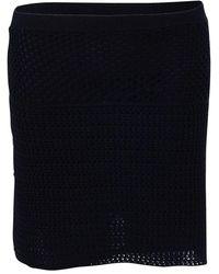 Prada Mini Skirt - Zwart