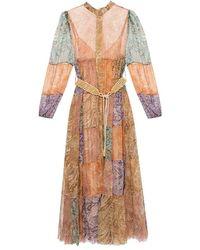 Zimmermann - Long-sleeved dress - Lyst