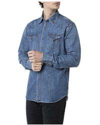 Replay Shirt - Blau