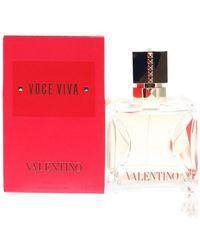 Valentino Voce Viva Eau De Parfum Spray - Rood