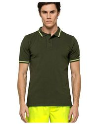Sundek Brice Polo Shirt M779plj6500-604 - Groen