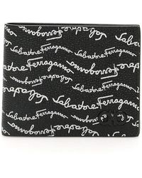 Ferragamo Signature Bifold Wallet - Zwart