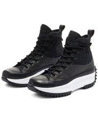 Converse Sneakers Run Star Hike High Top - Zwart