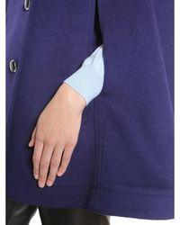 Boutique Moschino Cape Coat Azul