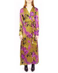 Motel Dress w21a342 - Violet