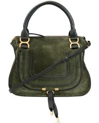 Chloé Marcie Medium Shoulder Bag - Groen