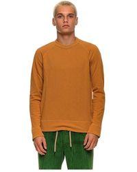 James Perse Sweatshirt Mxa 3278 Ctp - Oranje