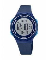 Calypso St. Barth Watch UR - K5804_2 - Bleu