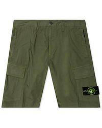 Stone Island Shorts - Grün