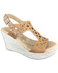 Oh My Sandals Sandaals 4597 - Bruin