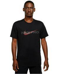 Nike T-shirt Dd6883 - Zwart