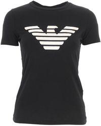 Emporio Armani T-shirt - Zwart