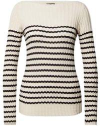Roberto Collina Breton Stripe Pullover - Neutro