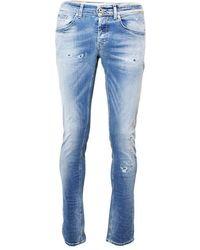 Dondup George Slim Jeans - Blu