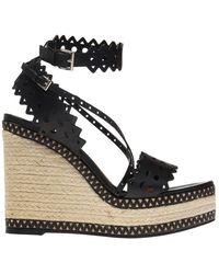 Alaïa Wedge Sandals - Zwart